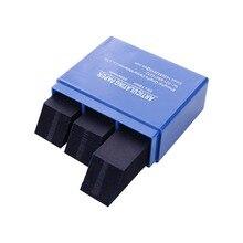 Красный/синий 300 лист/коробка Стоматологические артикуляционные бумажные полоски стоматологический лабораторный продукт Инструмент Уход за полостью рта отбеливающий материал 7,2*6,2*2,3 см