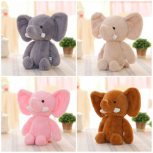 Cute Soft Plush Elephant Baby Toy Kids Baby Girls Stuffed Animal Doll Toy Christmas Gift