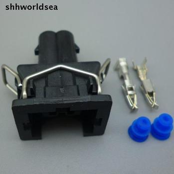 Shhworldsea 5/30/100 sets 3.5mm kit arnés de alambre, boquilla conector 037 906 240 037906240