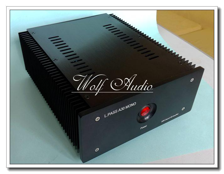 Finished L.PASS A30 MONO 30W Class A HiFi Power Amplifier