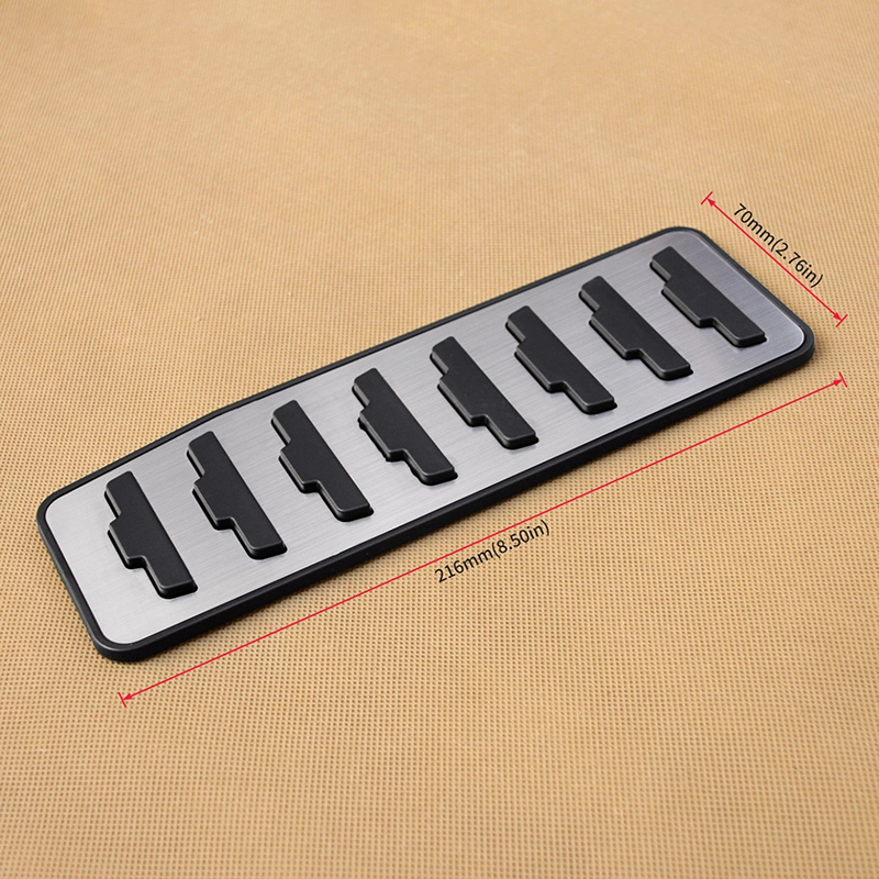 Stainless Steel Pedal Cover Fit For Range Rover Evoque 12 19 Footrest Pad Spare