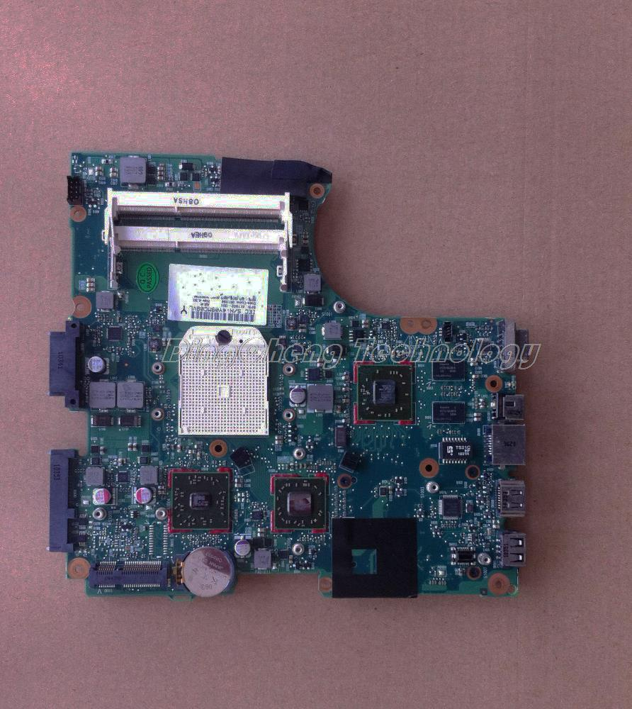 SHELI laptop Motherboard For hp CQ326 611802-001 for AMD cpu with 4 video chips non-integrated graphics card