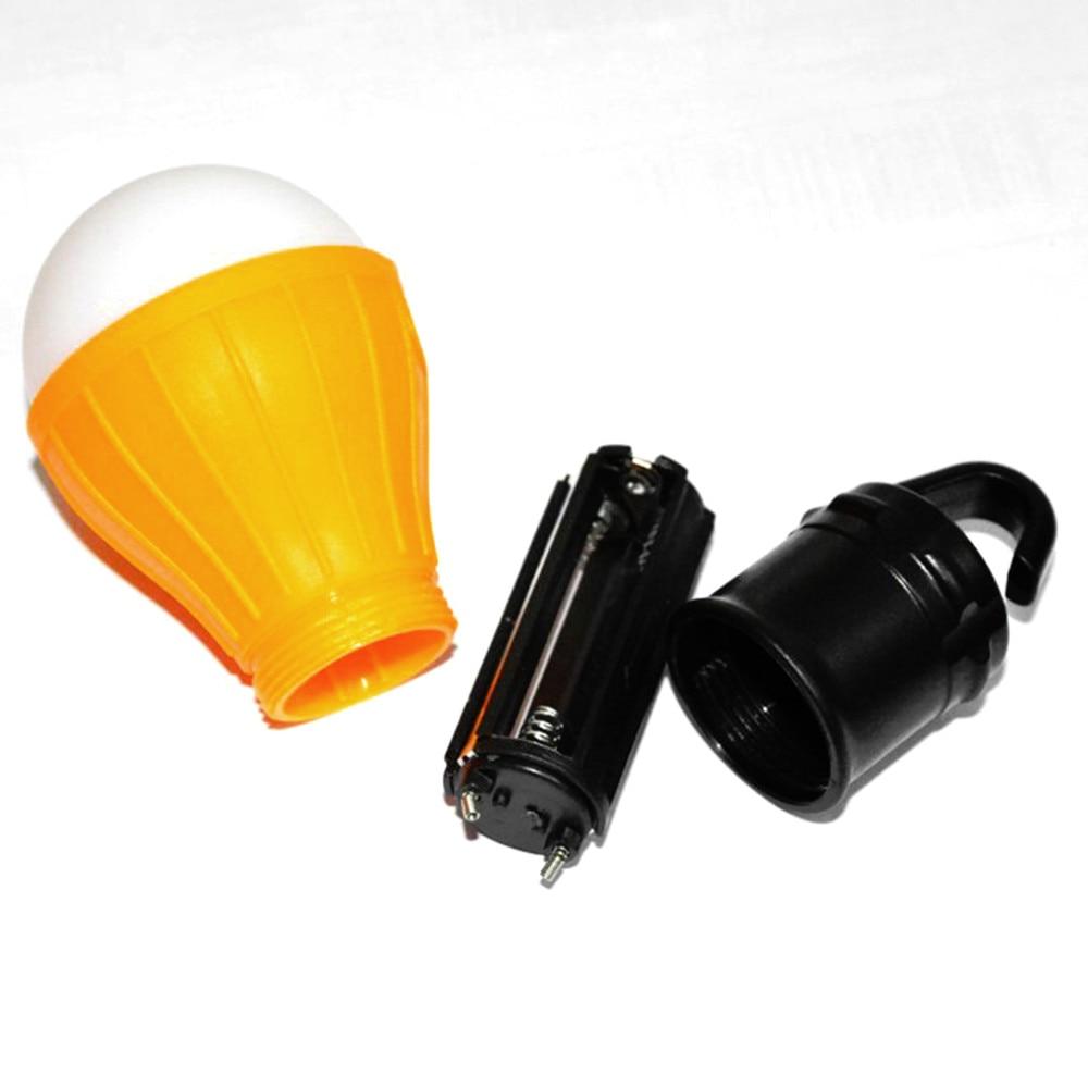 Mini lanterne Portable d'urgence, alimentée par batterie, accessoires pour tente de camping en plein air, plage en plein air 5