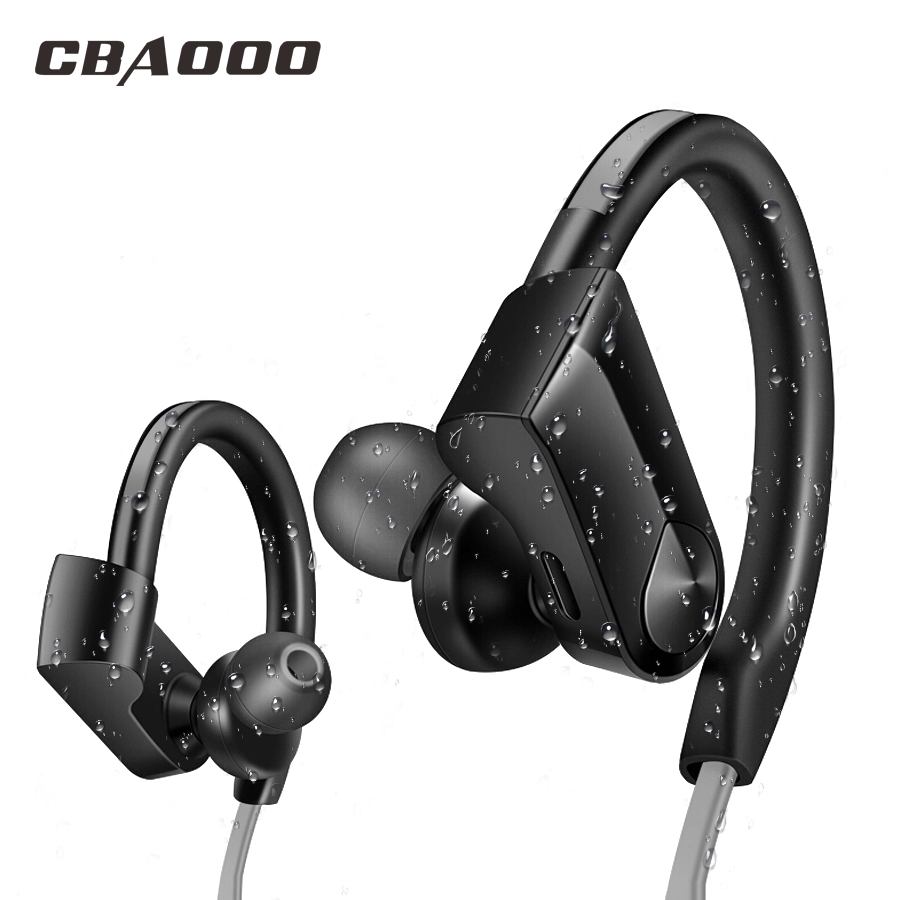 CBAOOO Sport Bluetooth Headphone Wireless Bluetooth Earphone Waterproof Headset noise reduction Stereo with Microphone cbaooo dt100 wireless bluetooth earphone headphone bass headset sport stereo earbuds headphones with microphone for xiaomi