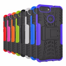 For Asus Zenfone Max Plus ZB570TL Cover ShockProof TPU +PC Phone Stand Case For Asus ZenFone Max Plus M1 ZB570TL Funda X018D