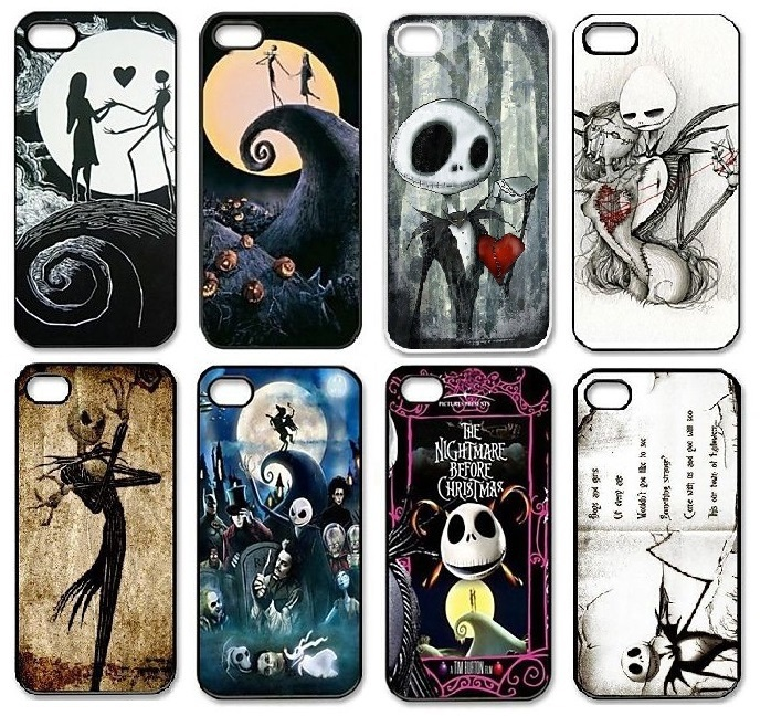 Nightmare Before Christmas Phone Case.The Nightmare Before Christmas Cell Phone Cases Cover Case