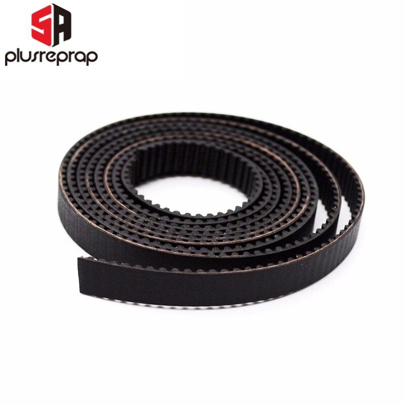 1 Meter GT2 6mm Open Timing Belt Width 6mm GT2 Rubber Timing Belt For 3D Printer Parts