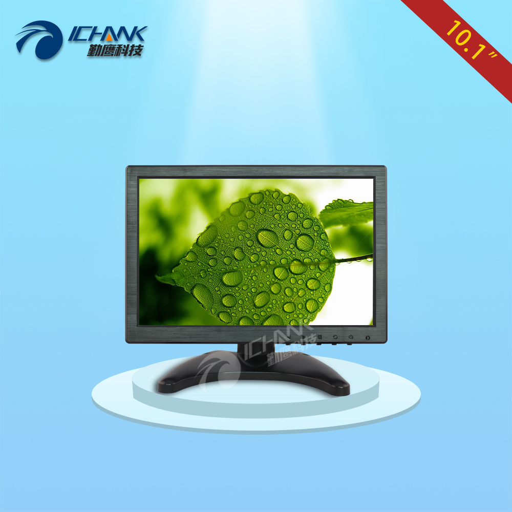 ZB101JN-V59/10.1 inch 1280x800 16:10 Full View 720p 1080p HD HDMI VGA Monitor USB U Disk Desktop Wall Advertising Display Screen zk101tc v59 10 1 inch 1280x800 full view hdmi vga metal shell embedded open frame industrial touch monitor lcd screen display
