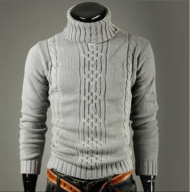 Pullover Sweater Turtleneck Masculina Winter Personal New Slim-Fit Autumn Necessary Blusa