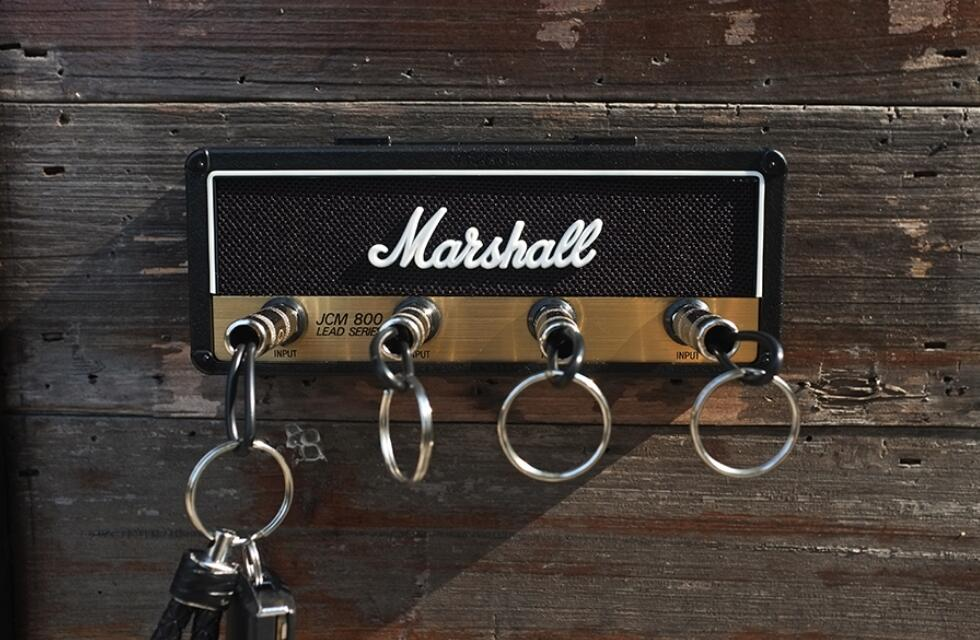 Marshall Jack Rack Guitar Amplifier Wall Key Holder JCM800 1959SLP GP69 Guitar Amplifier Key Holder Marshall 2.0-in Speaker Accessories from Consumer Electronics