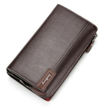 New Men Wallets PU Leather Vintage Long Wallet Clutch Money Bag Cards