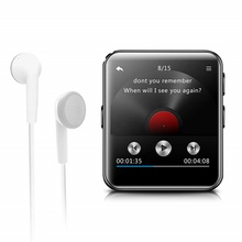 Newest MP3 Player with Bluetooth Touch Screen 8GB/16GB Touch Screen HiFi Portable Music Player Walkman with FM Radio Recording