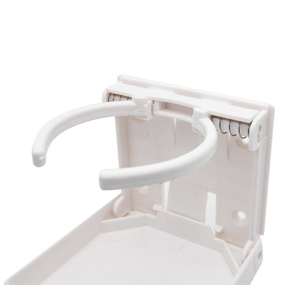 2X Adjustable Gray Folding Drink Cup Holder Boat Marine Caravan ...