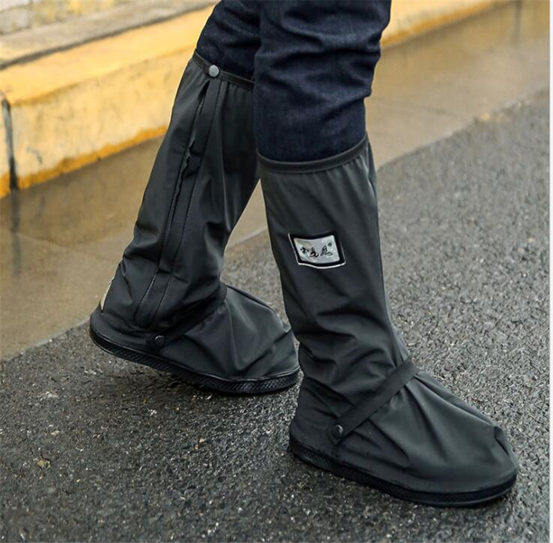 Motorcycle Rain Shoes Covers Rainproof Reflective Waterproof Bicycle Cycling Motorcycle Boots Overshoes Moto Boots Reusable in Motocycle Boots from Automobiles Motorcycles