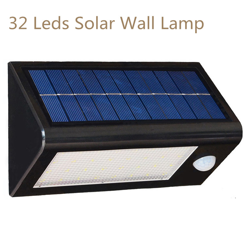 Waterproof Led Solar Light Outdoor Garden lampada Solar lamp Outdoor Lighting Solar Garden lamp l806 solar 8 led light black