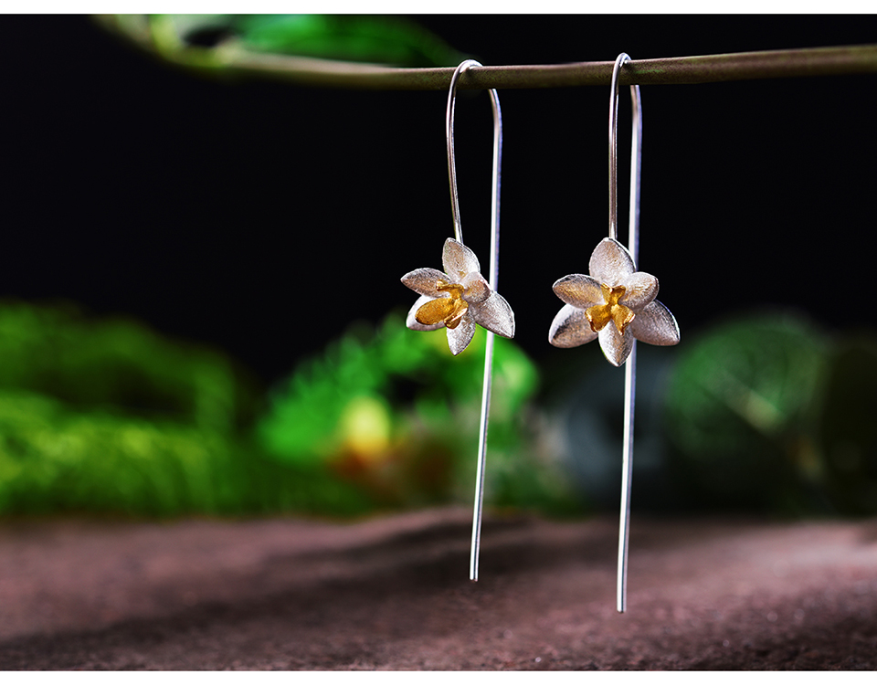 HTB1TkQmu5CYBuNkSnaVq6AMsVXaZ - Lotus Fun Real 925 Sterling Silver Natural Original Handmade Fine Jewelry Cute Blooming Flower Fashion Drop Earrings for Women