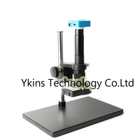 Table stand 20MP Full HD 1080P 60FPS HDMI USB Industrial Digital Microscope Video Camera+300X OR 180X Lens+144 Led light