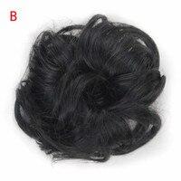Женские вьющиеся грязный булочка волос Twirl кусок Scrunchie Искусственные парики расширения парикмахерские Прямая доставка 0818