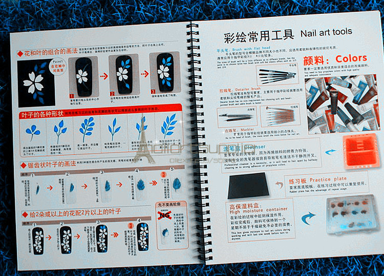 2015 nail art learning painting model template book nail art 2015 nail art learning painting model template book nail art magazine nail design reference in books from office school supplies on aliexpress prinsesfo Image collections