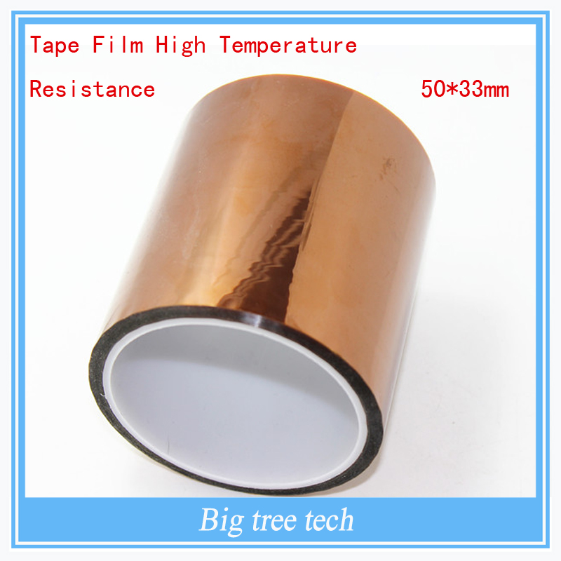 3D Printer Bed parts -Accessories Tape Film High Temperature Resistance 50*33mm