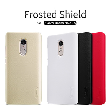 for Xiaomi Redmi Note 4X Nillkin Super Frosted Shield Hard Back Cover Case for Redmi Note 4X 5.5