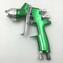 SAT1164 Spray Gun HVLP 1.3mm 1.4mm Steel Nozzle Paint Spray Gun Professional Airbrush Spray Gun For Painting Car sat0087 hvlp pistola de pintura mini hvlp spray gun for painting professional airbrush paint spray gun hvlp spray gun gravity