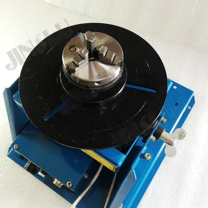 Mini rotatore di saldatura posizionatore di saldatura BY-10 110V con - Attrezzatura per saldare - Fotografia 2