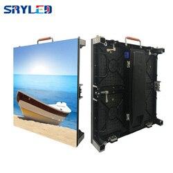 Pantalla LED interior de 7 kg/unidad RentalP2.6 P2.976 P3.91 P4.81 con Panel Led de aluminio fundido a presión de 500x500mm