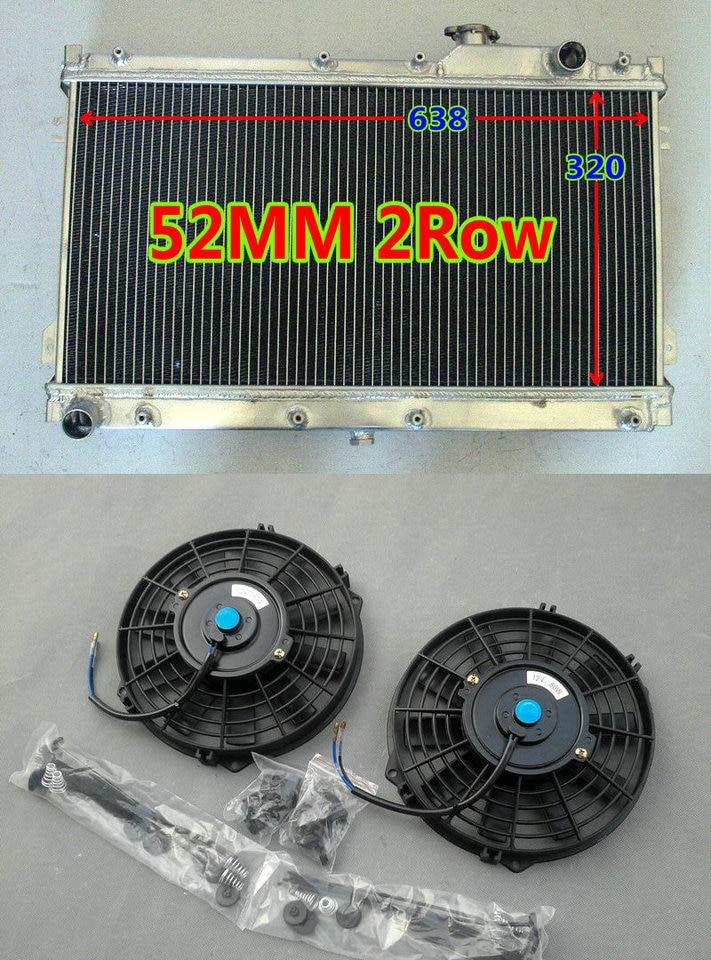 52MM aluminum radiator 90-97 MAZDA MIATA MX5 MX-5 MX V MT 91 92