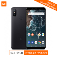 Global Version Xiaomi Mi A2 4GB 64GB Mobile Phone Snapdragon 660 Octa Core 20.0MP Dual Camera 5.99 18:9 Full Screen Android One