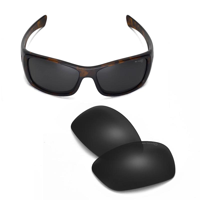 944ec4badc Walleva Mr.Shield High-Grade Polarized Replacement Lenses for Oakley Hijinx  Sunglasses 3 colors available