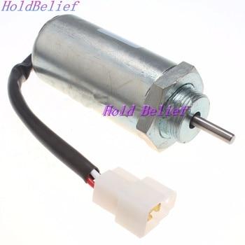 Solénoïde D'arrêt De Carburant 12 V Pour Mini Pelle JCB 8080/8055 ZTS/8065 RTS/8085