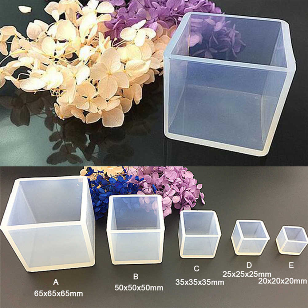 Jewelry Making Cube Resin Casting Mould
