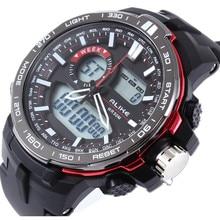 2016 New ALIKE G Style Watches Men Luxury Brand Men's Quartz-Watch LED Analog-Digital Sports clock Man Army Military Wrist Watch