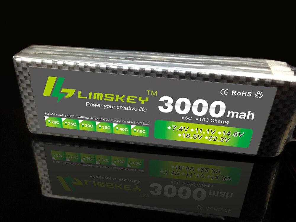 Limskey السلطة 3 ثانية 11.1 فولت 3000 مللي - ألعاب التحكم عن بعد