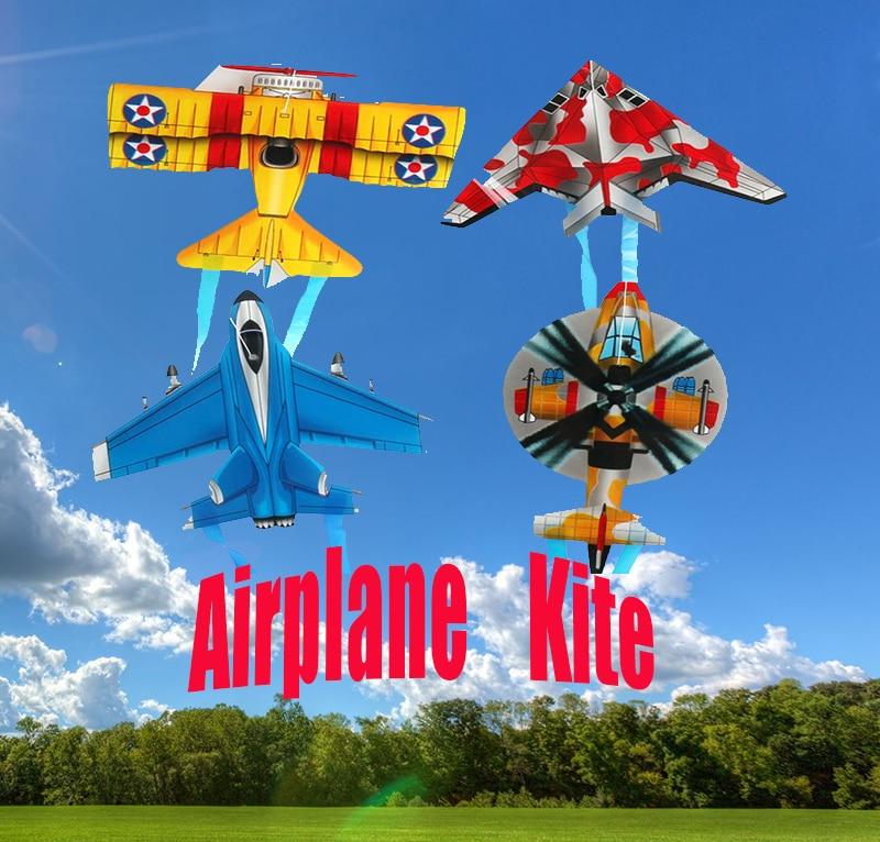 Multicolor Throw Kite Mini Plane Kite For Kids Flight Model Child Interactive Interest Outdoor Kites Flying Toys Small Plastic