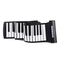 DHL Free Ship Roll Up Piano 88 Keys Karaoke Silicone Electronic Keyboard