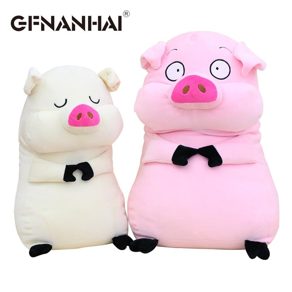 1 St 40 Cm Kawaii Dier Varken Pluche Kussen Gevulde Zachte Down Katoen Uitdrukking Pig Speelgoed Baby Kids Sofa Kussen Voor Verjaardag Gift