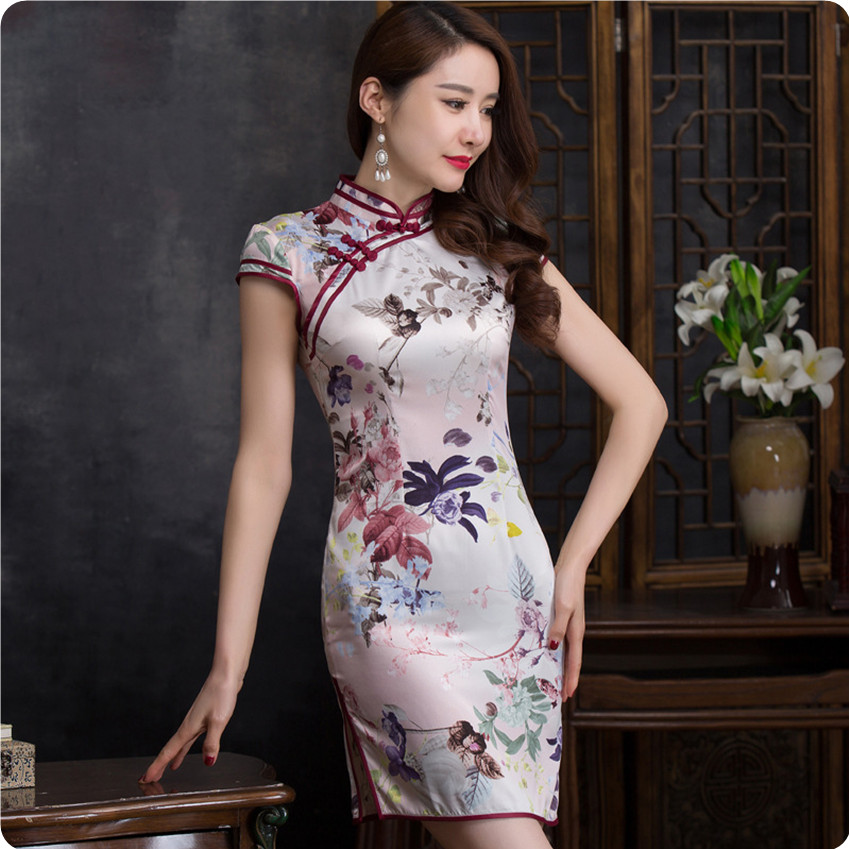 c775d67df Chinese Women In Satin Blouse