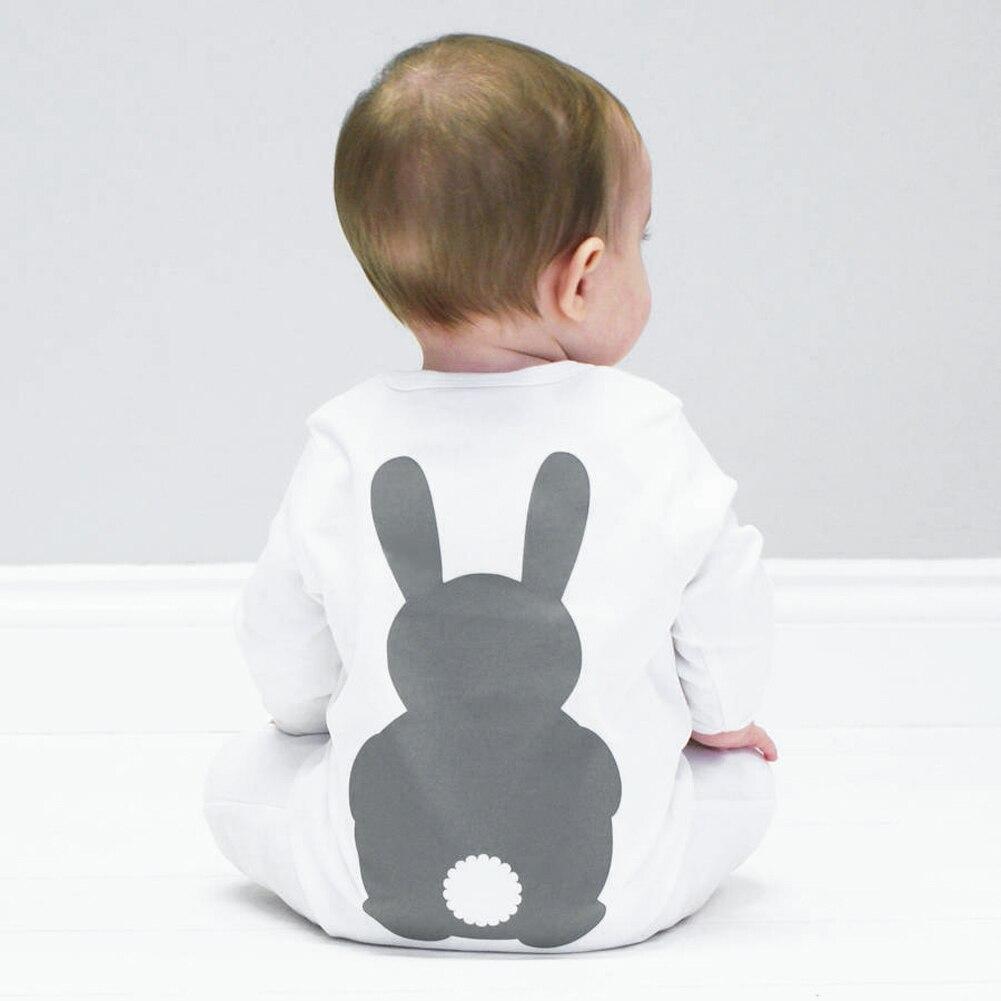Baby Clothes Bunny Romper Winter Costumes Warm Newborn Kids Infant Rabbit Boys Girls Jumpsuit Long Sleeve Spring
