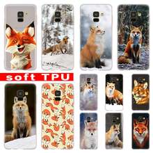 Mr Cute Fox untuk Samsung Galaxy A10/A30/A40/A50/A70 A9 A8 A6 A7 2018 a3 A5 2017 2016 TPU Case Cover Lembut(China)