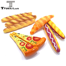 Creative hot dog pizza ballpoint pens Office with school supplies 0.5mm ball point Stationery Writing chancery