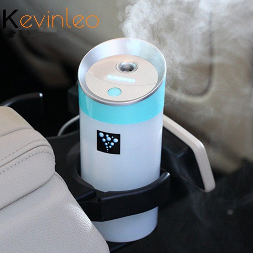 Auto Ätherisches Öl Diffuse Luftbefeuchter 300 ml USB 5 v 4 Farben Aroma Ultraschall Nebel Machen Öl Diffusor Aromatherapie Für Auto luftreiniger