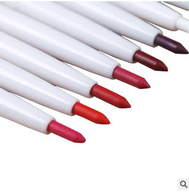 8pcs Automatic rotary lip liner long-lasting makeup sexy products lipliner lady waterproof beauty eye liner lip pencil