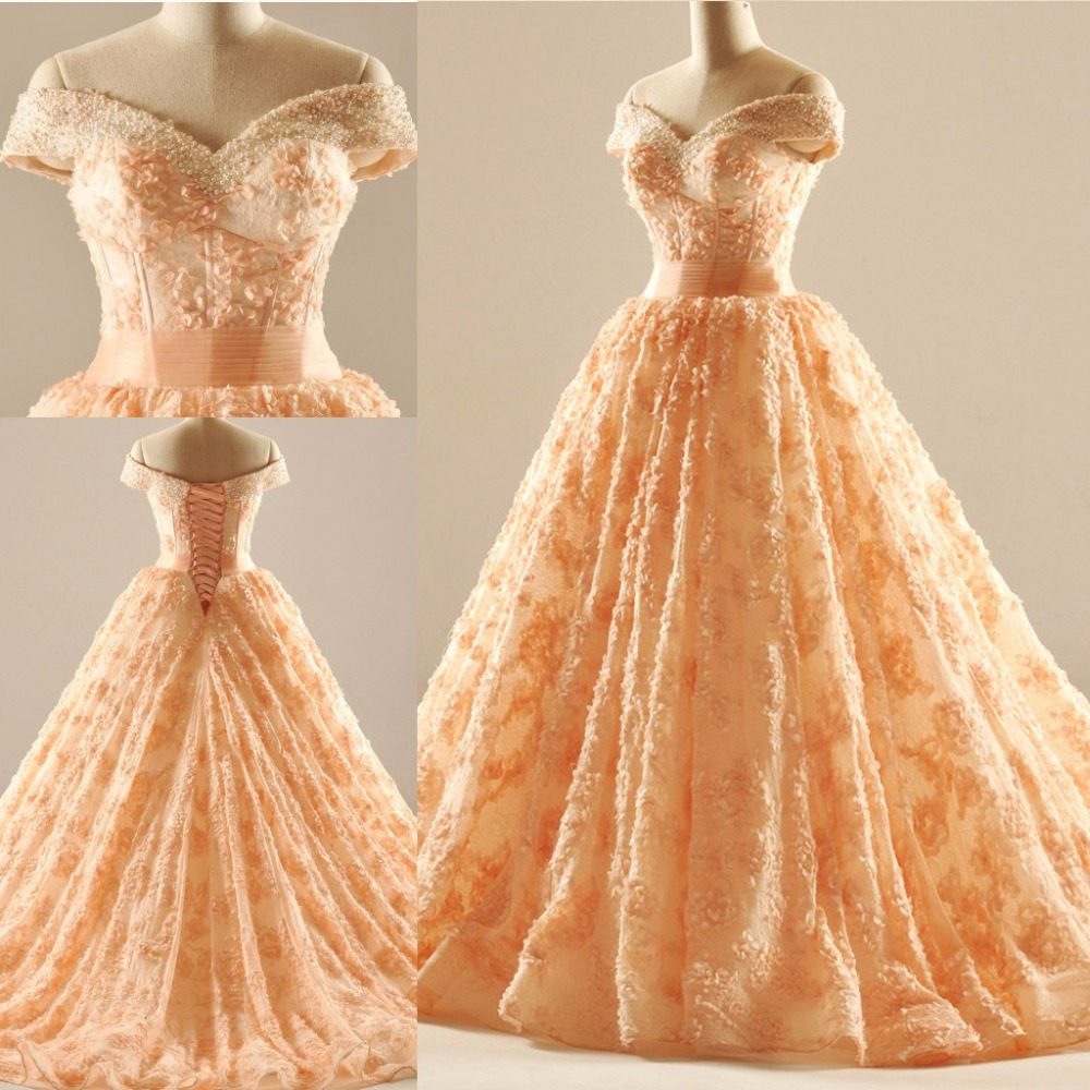 online buy wholesale wedding dresses orange from china