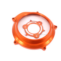 Motorcycle CNC Transparent Clutch Cover Protector For KTM 1050 1090 1190 1290 Adventure Superduke R/GT LC8 engine all years