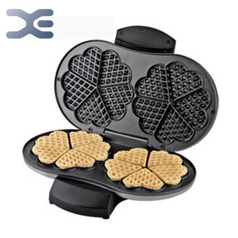 Waffle Machine Machine Commercial Home Cake Sandwich Electromechanical Baking Pan Crepe Paper Stainless Steel Housing