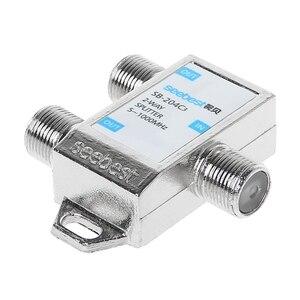 Image 4 - 2019 nouveau récepteur de télévision par Satellite de connecteur de répartiteur numérique HD 2 voies conçu pour SATV/CATV