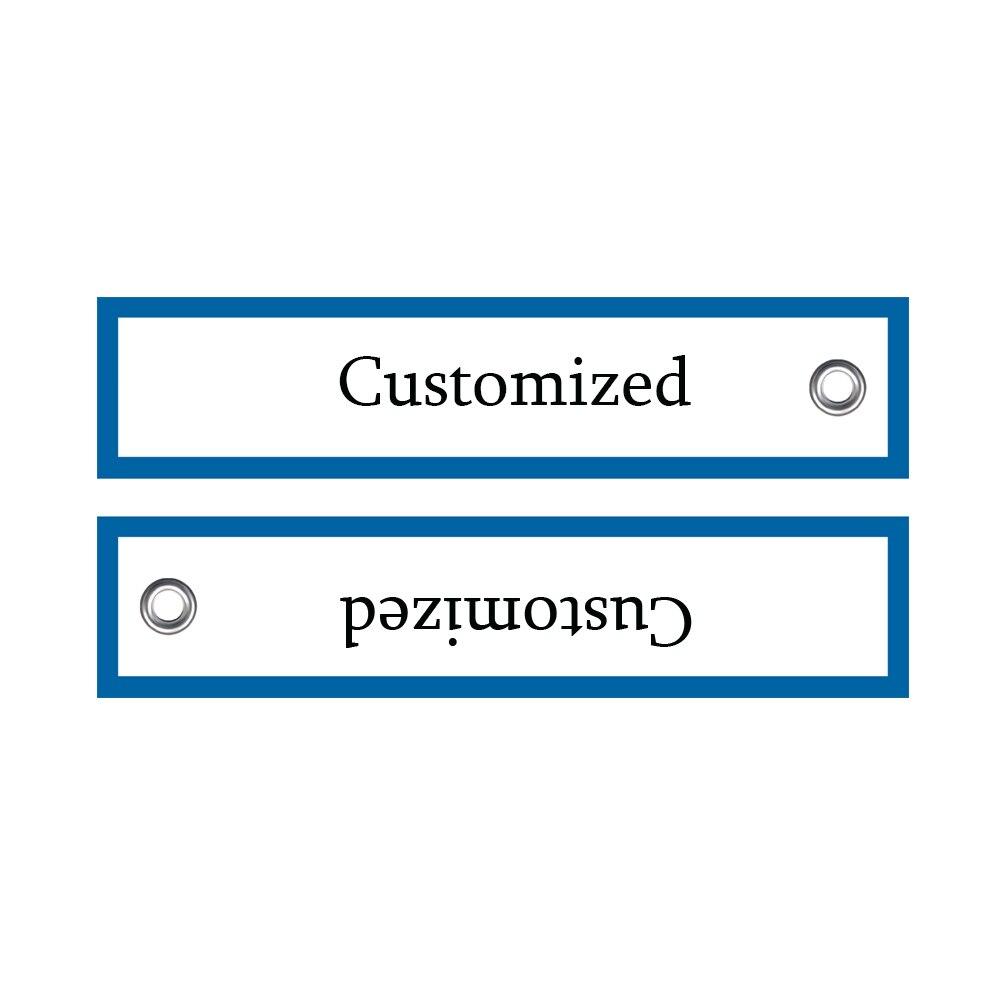 Aangepaste verwijderen Bagagelabel Label voordat vlucht Sleutelhanger Chaveiro-in Sleutelhangers van Sieraden & accessoires op  Groep 1