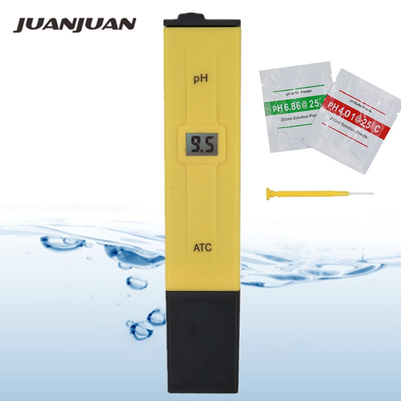 20pcs lot Pocket Pen Water PH Meter Digital Tester PH 009 IA 0 0 14 0pH